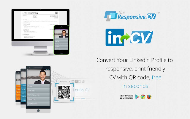 linkedin cv Responsive CV: Resume Maker from LinkedIn