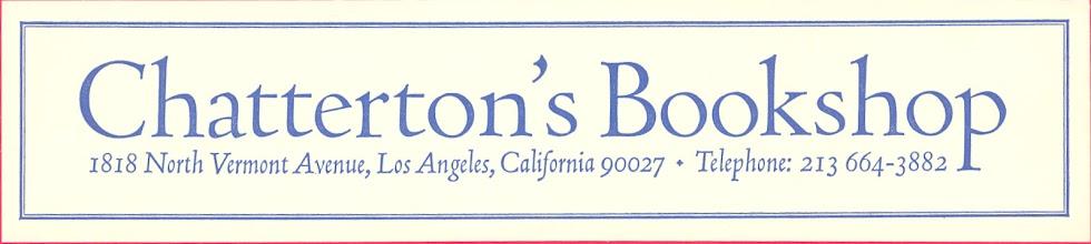 Photo: Chatterton's Bookshop (2)