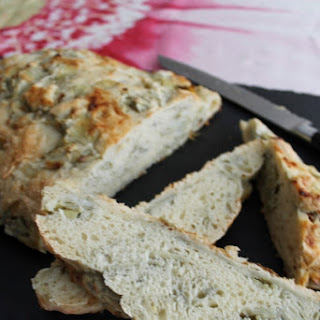 Artichoke & Roasted Garlic Bread Recipe