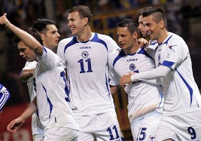 België kon nog nooit winnen in Bosnië