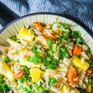 From Pineapple Coconut Stir-fry to Fried Rice Wraps.