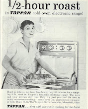 Photo: 1957 ad for a microwave oven. They took a long time to catch on.