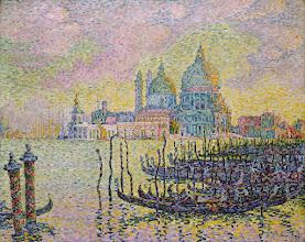 "Photo: Paul Signac, ""Venezia, Canal Grande"""
