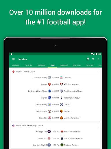 FotMob Pro - Live Soccer Scores  screenshots 6