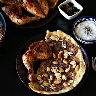Baked Chicken with Sumac (Msakhan)