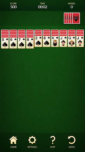 Spider Solitaire - Free Card Game - screenshot