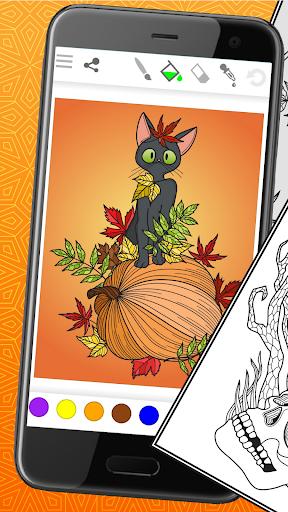 Télécharger Gratuit ColorSky: livre de coloriage anti-stress gratuit mod apk screenshots 3
