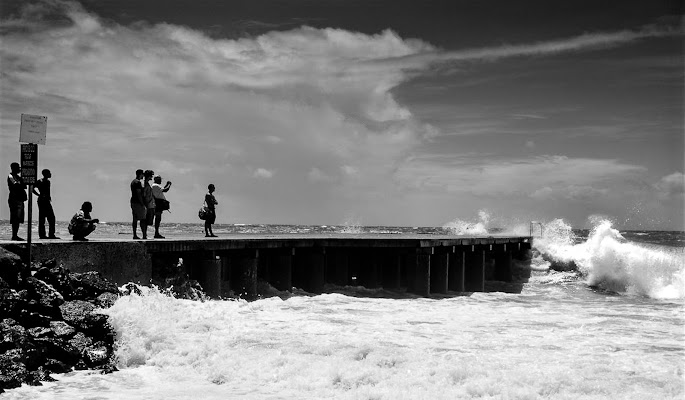 Ciclone Oceano Atlantico 2015 di marikarossiphotography