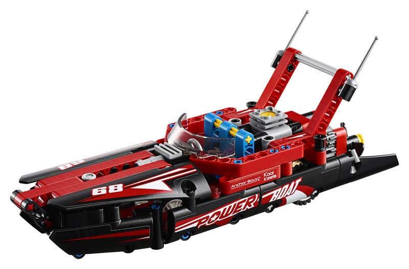 Contenido de Lego® 42089 Lancha de Competición