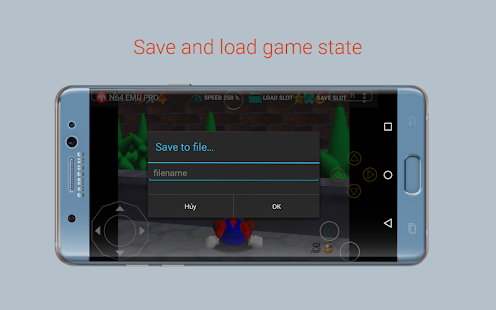 N64 Emulator Pro Screenshot