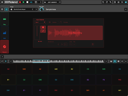 Roland Zenbeats screenshot 12