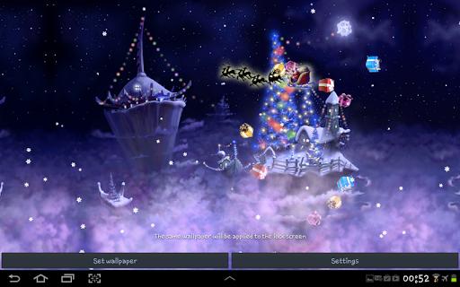 Christmas Snow Fantasy Live Wallpaper screenshots 3