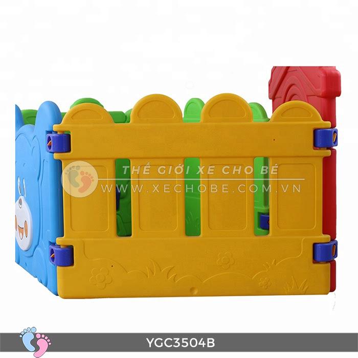 Nhà banh mini cho bé YGC-3504B 12