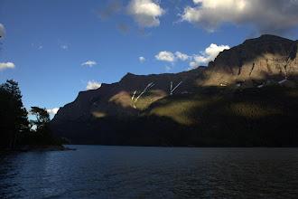 Photo: At Saint Mary Lake, Glacier National Park