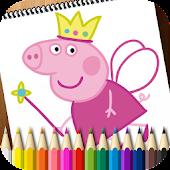 Coloring Book Peppa Pig