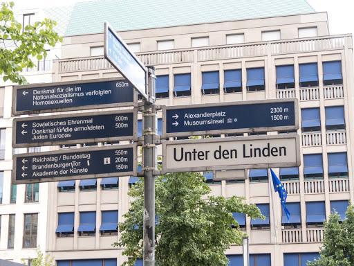 street-sign-in-downtown-berlin.jpg - A street sign in downtown Berlin.
