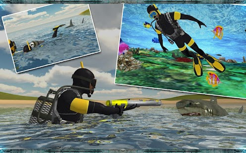Spear Fishing Scuba Deep Dive Screenshot