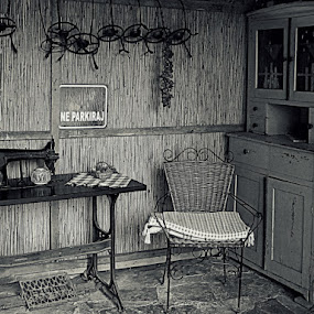 by Tatjana Koljensic - Black & White Objects & Still Life