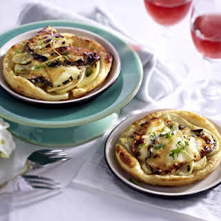 Pear, Honey and Goat Cheese Tarts.