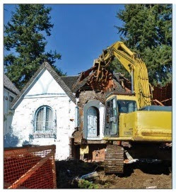 Demolition or De-construction?