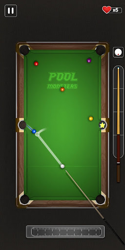 Pool Masters 3D - TrickShot City apkpoly screenshots 1