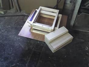 Photo: Wpierw przygotowujemy rama przodnie i tylne owymiarach 40cm na 30cm gr listew 30mmx25mm