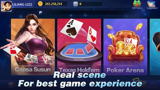 Arena Capsa Susun-Texas Hold'em & Poker & Slot download 1