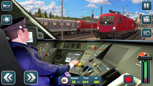 Euro Train Driver Sim 2020: 3D Train Station Games 1.4 screenshots 1