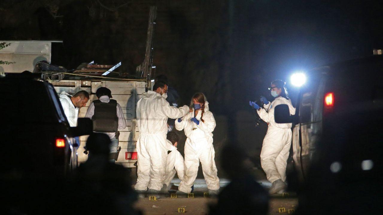 Sicarios matan a 11 albañiles en Tonalá, Jalisco