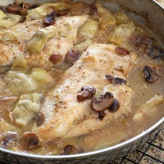 Chicken and Artichoke Casserole Recipe