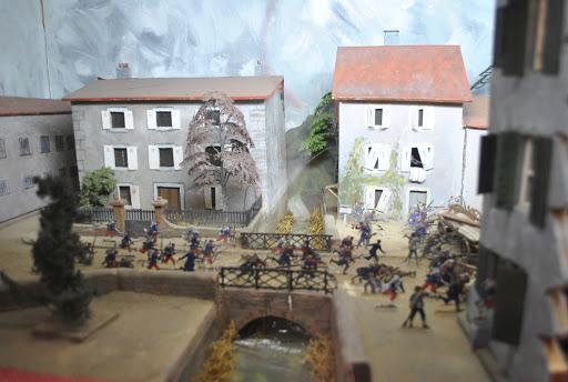 Reconstitution bataille de 1870 - Musée de la Terre