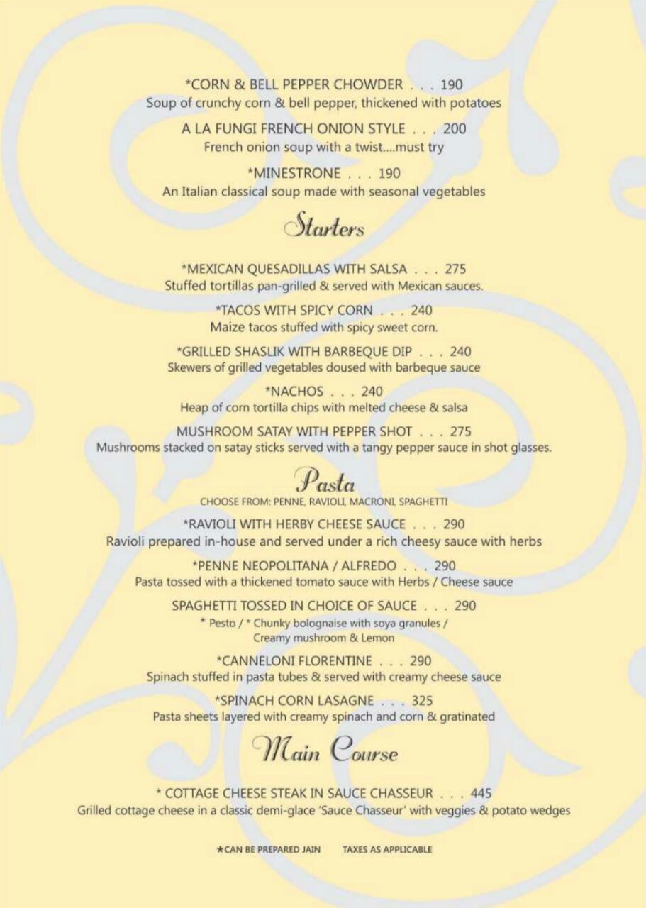 Sapphire menu 7