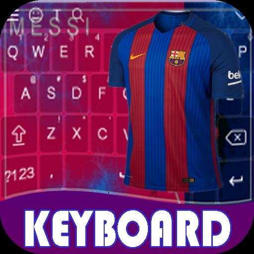 Keyboard For BarcelonaFC Theme