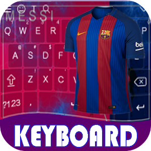 Keyboard For BarcelonaFC Theme