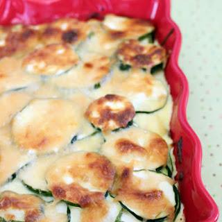 Cheesy Baked Zucchini