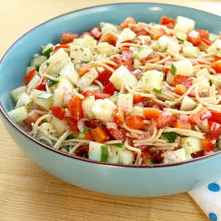 Veggie Spaghetti Salad.