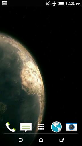 Earth Video 3D Wallpaper