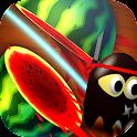 Fruits Street Ninja HD Free icon