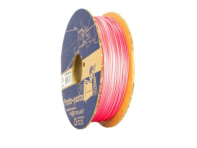 Proto-Pasta Cupid's Crush Metallic Pink HTPLA - 1.75mm (.5kg)