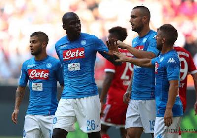 Le chouchou de Naples est incertain pour la Ligue des Champions