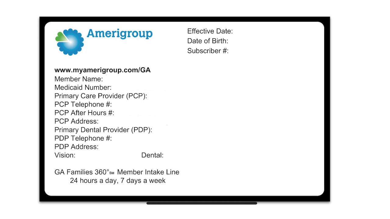 Amerigroup Mobile- screenshot