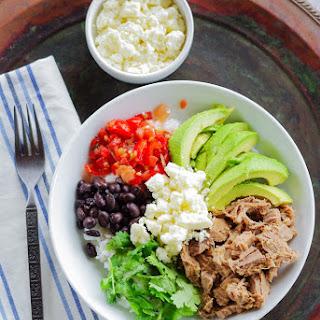 Easy & Healthy Beef Burrito Bowls