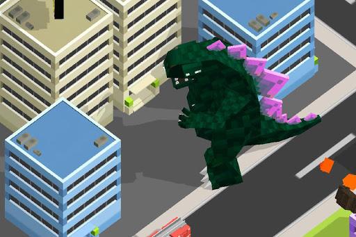 Smashy City - Monster Game apkpoly screenshots 2