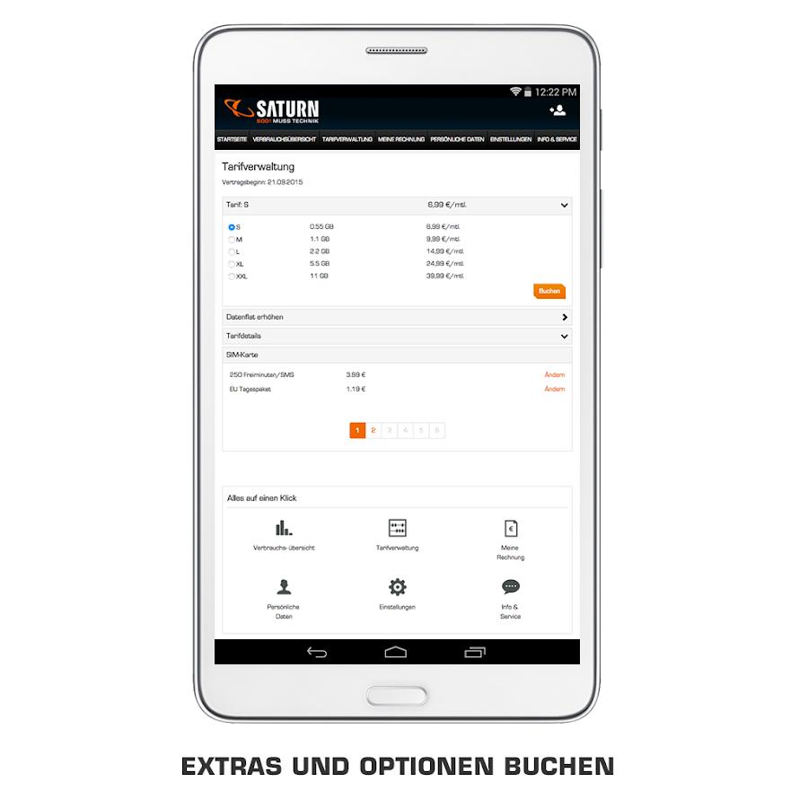 saturn tarif android apps on google play. Black Bedroom Furniture Sets. Home Design Ideas