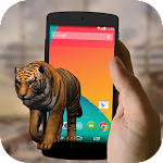 Tiger on Screen Icon