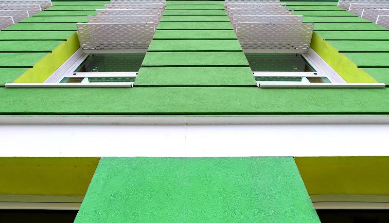 Prospettiva in verde di mt antona