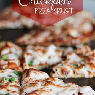 Chickpea Flour Pizza Crust.