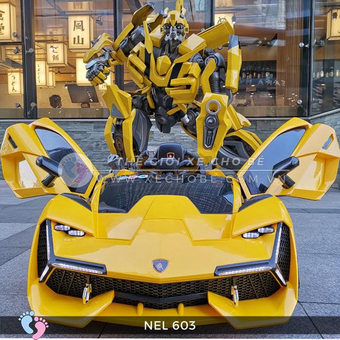 xe ô tô điện trẻ em Lamborghini NEL-603 15