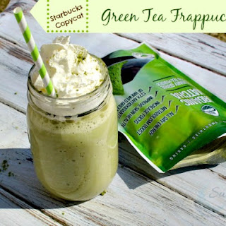 Copycat Starbucks Green Tea Frappuccino