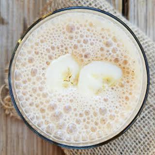Vegan Banana Chai Lactation Smoothie.